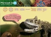 screenshot úvodní webové stránky soutěže