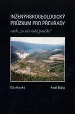 obálka knihy Inženýrskogeologický průzkum pro přehrady