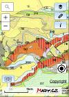 Náhled aplikace Geovědní mapy