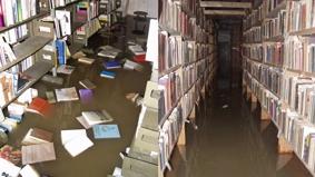 Povodně 2002 v Národní knihovně