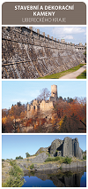 Stavební a dekorační kameny Libereckého kraje