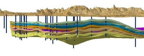 Trojrozměrný model akviferů středočeské permokarbonské pánve – potenciálních úložišť CO2