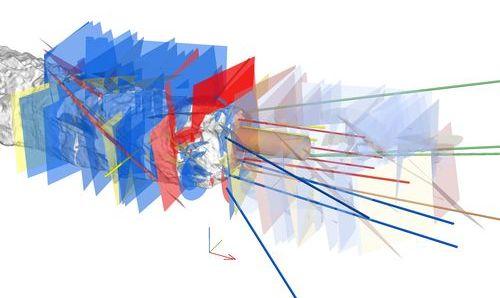 Strukturní model okolí experimentální lokality