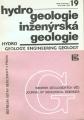 Hydrogeologie, inženýrská geologie 19
