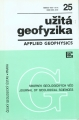 Užitá geofyzika / applied geophysics 25