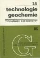 Technologie, geochemie / technology, geochemistry 25