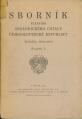 Sborník  (později Sborník geologických věd se sedmi řadami)