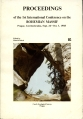 Proceedings of the 1st International Conference on the Bohemian Massif