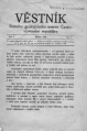 Věstník Státního geologického ústavu Československé republiky