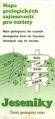 Jeseníky - mapa geologických zajímavostí pro turisty