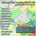 1. digitální publikace - CD-ROM Atlas mapa GeoČR 500