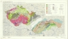 Mapa metamorfní stavby ČSSR 1 : 1 000 000