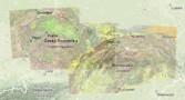 Česko-slovenská přehledná geologická mapa na internetu