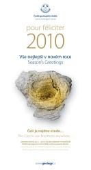 Novoroční blahopřání České geologické služby