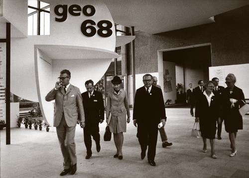 Mezinárodní geologický kongres v roce 1968