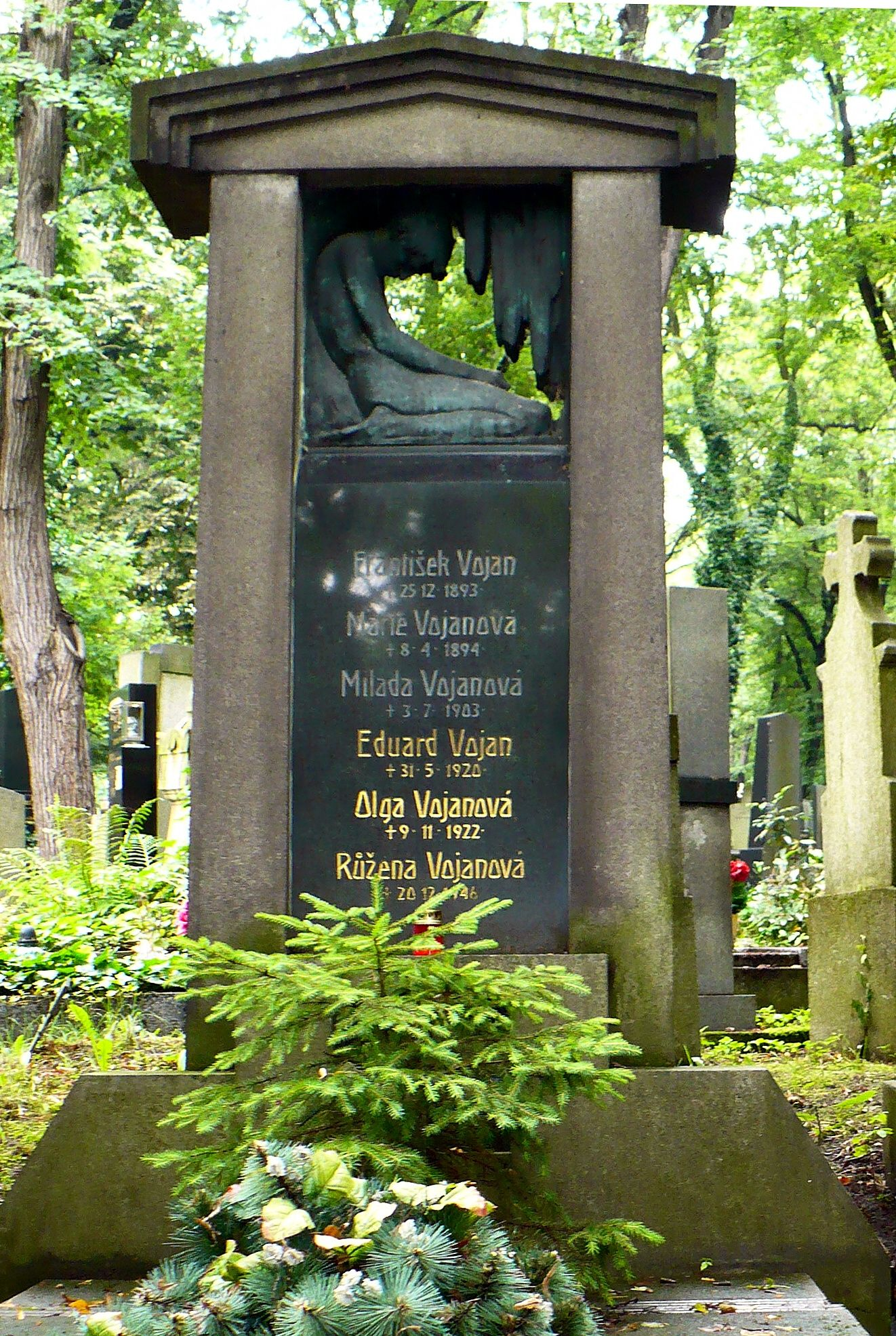 Tomb of Eduard Vojan