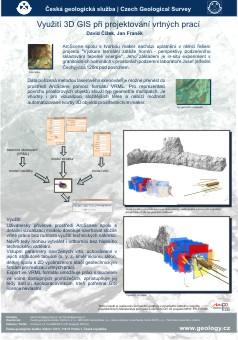 Poster shrnující metodiku projektování vrtných prací