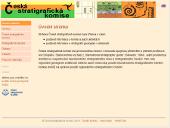 Screenshot úvodní stránky webu ČSK