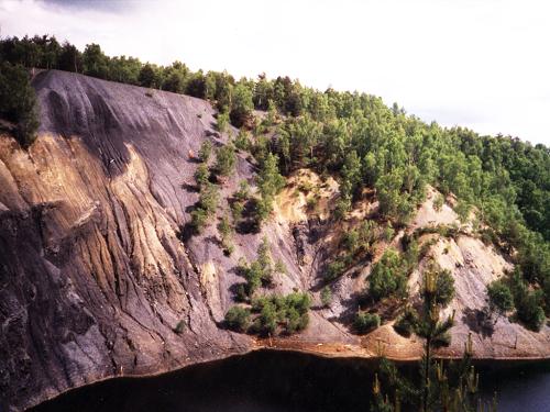 Starohorní kamenečné břidlice v Hromnicích