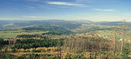 Žďárské vrchy od Devíti skal