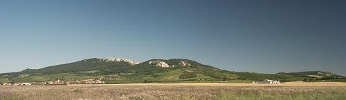 Pavlovské vrchy, pohled od západu