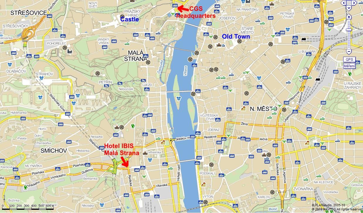 Czech geological survey togeos project news for Prague location